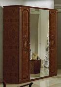 Шкаф четырехдверный Мартина Орех