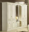 Шкаф шестидверный Юлия Беж